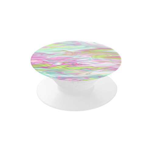 Pastel Iridescent Marble Waves Pattern Air Smart Phone Holder