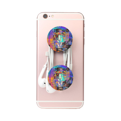 Abstract Art The Way Of Lizard multicolored Air Smart Phone Holder
