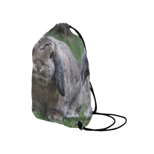 "bunny by JamColors Medium Drawstring Bag Model 1604 (Twin Sides) 13.8""(W) * 18.1""(H)"
