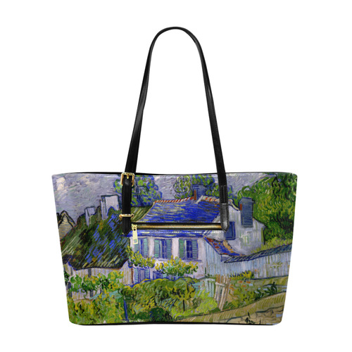Van Gogh Houses in Auvers Euramerican Tote Bag/Large (Model 1656)