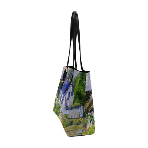 Van Gogh Houses in Auvers Euramerican Tote Bag/Large (Model 1656)