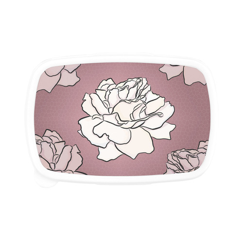 Mosaic Mauve Pink Roses Children's Lunch Box