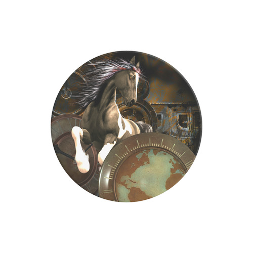Steampunk, awesome horse with clocks and gears Air Smart Phone Holder
