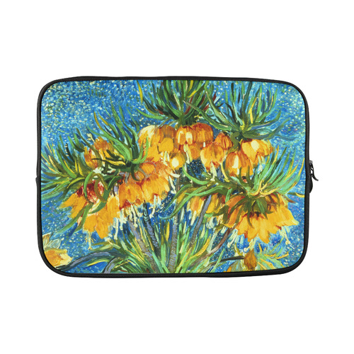 Van Gogh Fritillaries Copper Vase Floral Nature Custom Laptop Sleeve 15''