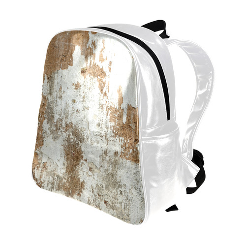 ABSTRACT STRUCTURES © Pimpinella Art Multi-Pockets Backpack (Model 1636)