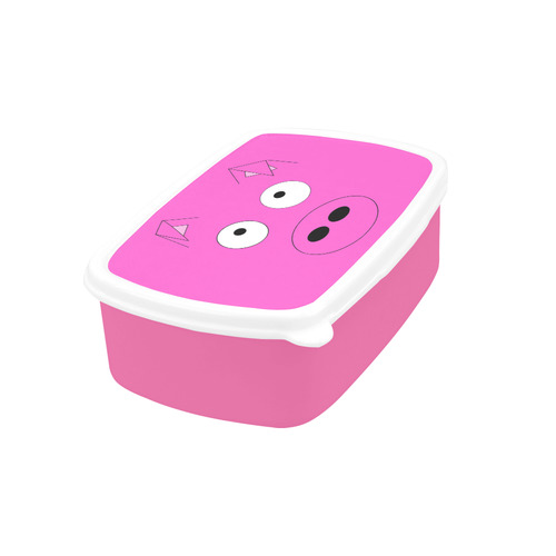 Pink Pig Children's Lunch Box