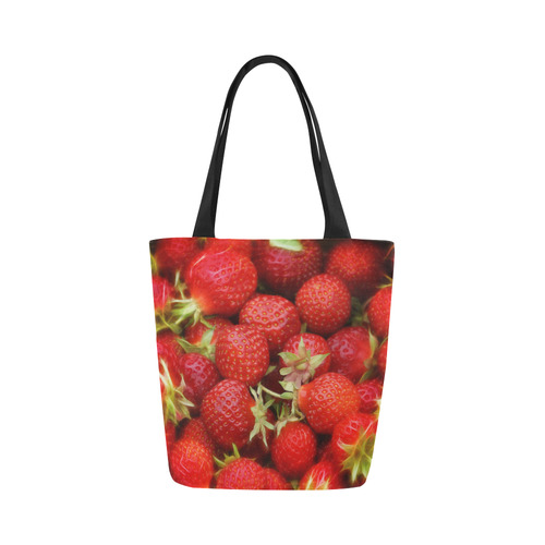 Strawberry Hills Canvas Tote Bag (Model 1657)