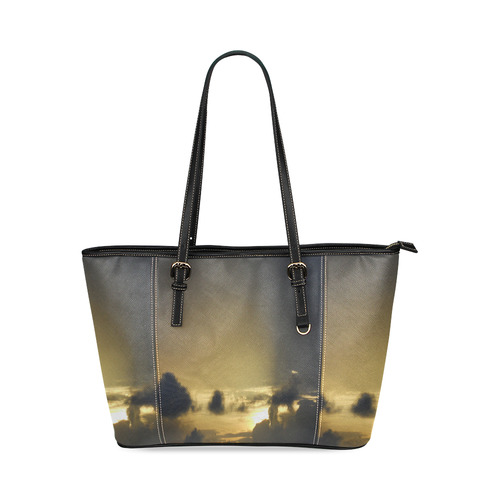 Goodnight Leather Tote Bag/Small (Model 1640)