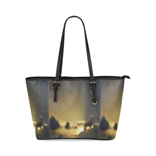 Goodnight Leather Tote Bag/Large (Model 1640)