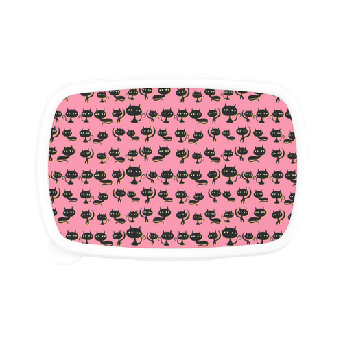 Lots of Cats Pink Children's Lunch Box