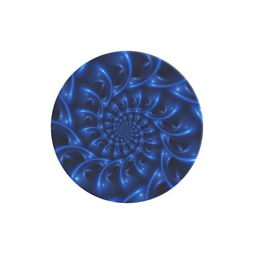 Glossy Blue Spiral Fractal Air Smart Phone Holder