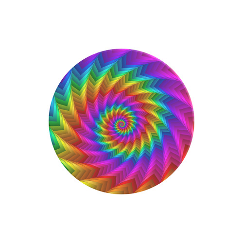 Psychedelic Rainbow Spiral Air Smart Phone Holder