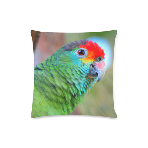"Red Brow Custom Zippered Pillow Case 16""x16""(Twin Sides)"