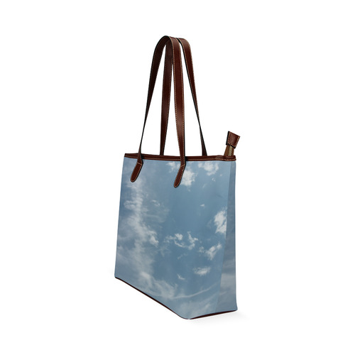 London Sky Shoulder Tote Bag (Model 1646)