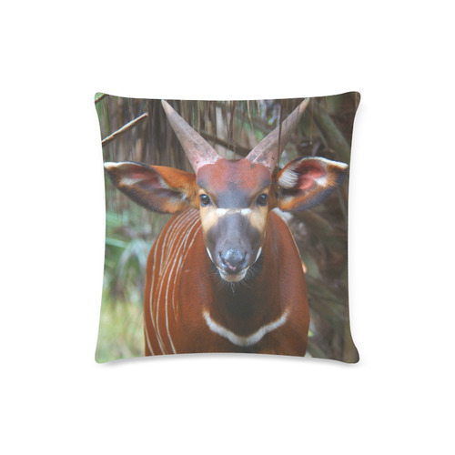 "Bongo Custom Zippered Pillow Case 16""x16""(Twin Sides)"