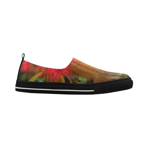 Mico Apus Slip-on Microfiber Women's Shoes (Model 021)
