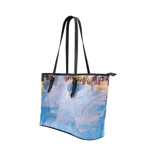 SPLASH 4 Leather Tote Bag/Small (Model 1651)