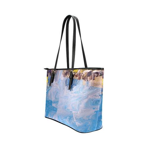 SPLASH 4 Leather Tote Bag/Large (Model 1651)