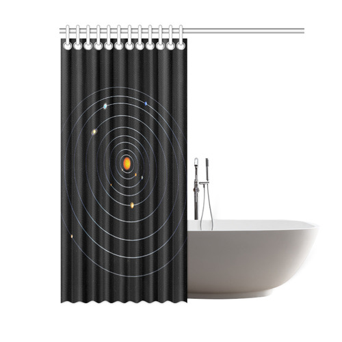 Our Solar System Shower Curtain