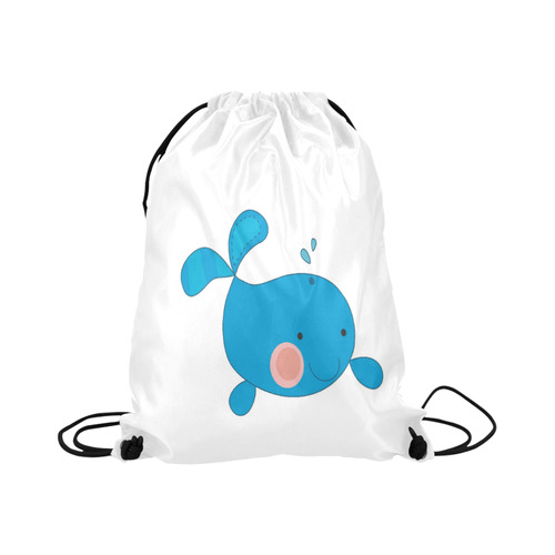 "Sea Creature Basketball Drawstring Bag Model 1604 (Twin Sides)  16.5""(W) * 19.3""(H)"