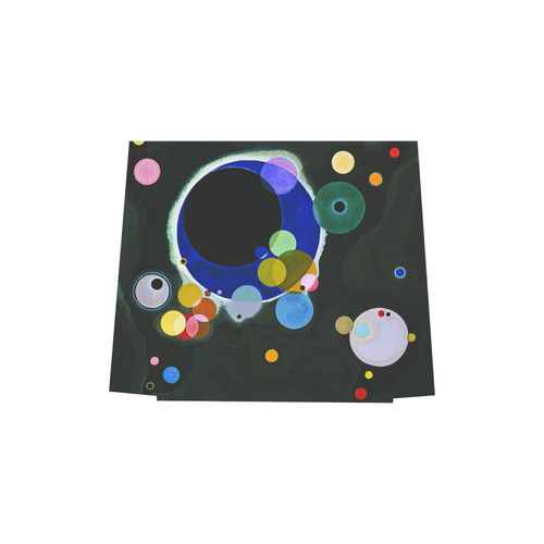 Kandinsky Several Circles Euramerican Tote Bag/Small (Model 1655)