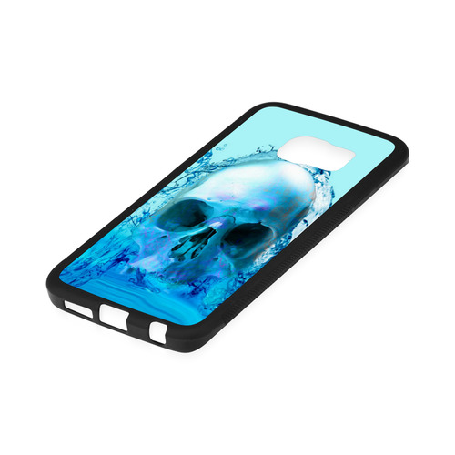 Skull in Water Rubber Case for Samsung Galaxy S6 Edge