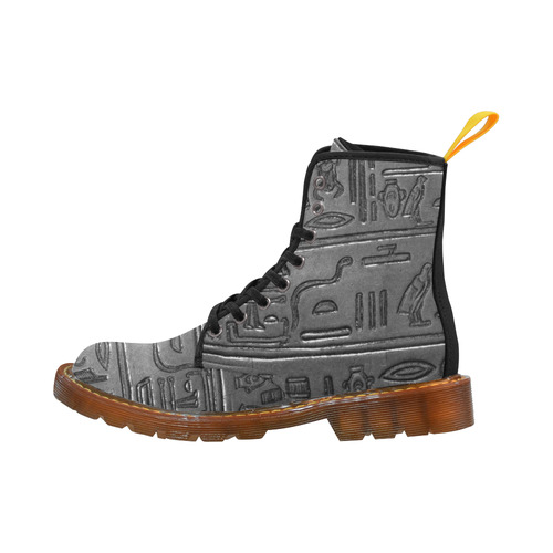Hieroglyphs20161235_by_JAMColors Martin Boots For Men Model 1203H