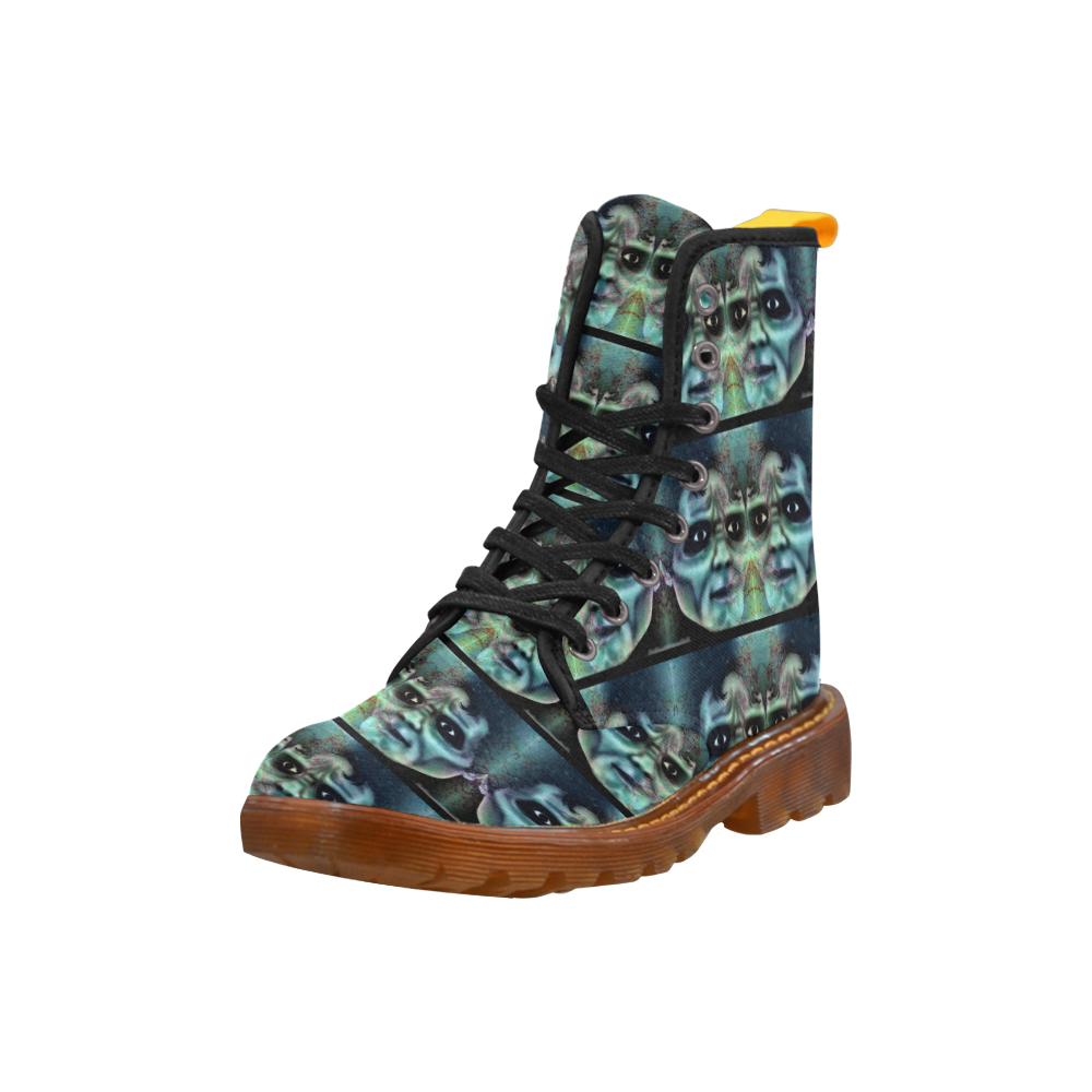 Thriller Of A Zombie Martin Boots For Women Model 1203h