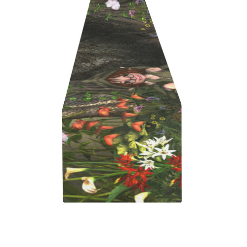 It's time to relax Table Runner 14x72 inch