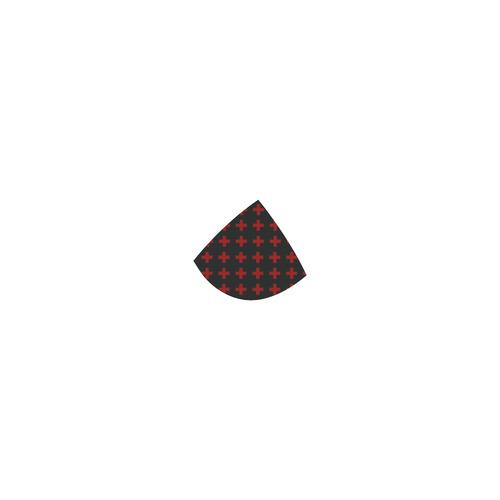 Punk Rock style Red Crosses Pattern Custom Bikini Swimsuit