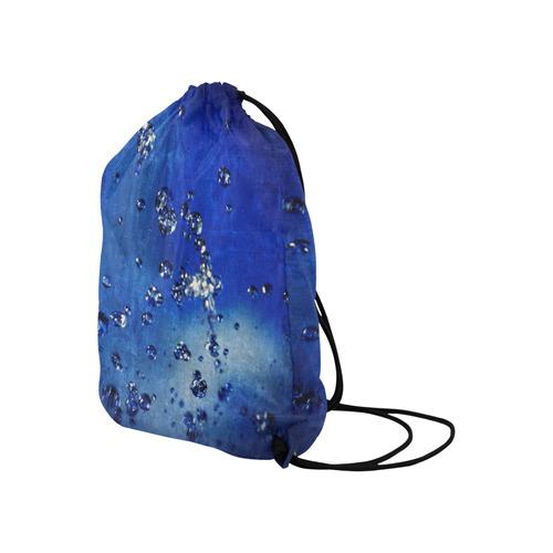 "WATER GAMES © Pimpinella Art Basketball Drawstring Bag Model 1604 (Twin Sides)  16.5""(W) * 19.3""(H)"