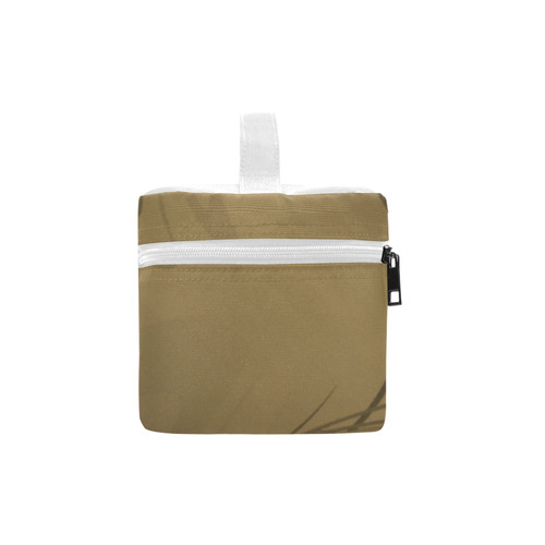 brown lunch box Lunch Bag/Large (Model 1658)