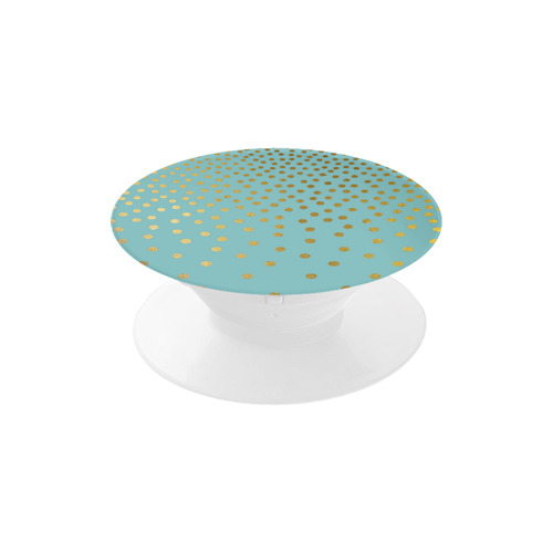 Gold Elegance Polka Dots Shower Air Smart Phone Holder