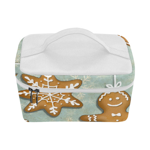 ginger brad christmas art illustration cookies Lunch Bag/Large (Model 1658)