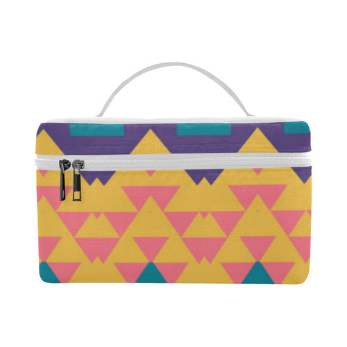 Pastel tribal design Cosmetic Bag/Large (Model 1658)