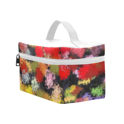 Colorful paint strokes Cosmetic Bag/Large (Model 1658)