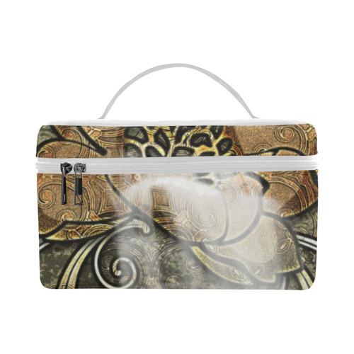 Noble flower design Lunch Bag/Large (Model 1658)