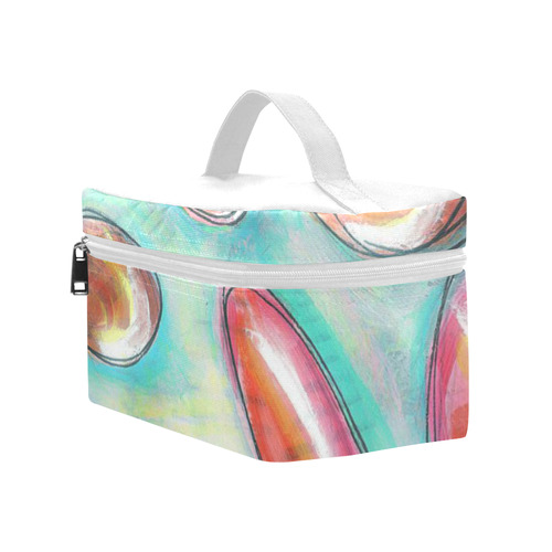 strawberry water Cosmetic Bag/Large (Model 1658)