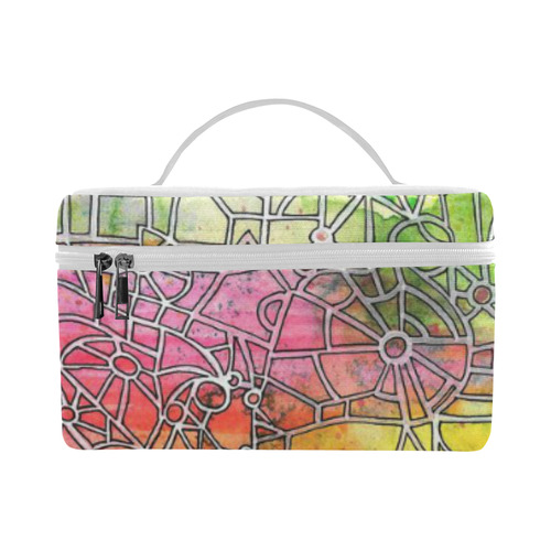 00 maze Cosmetic Bag/Large (Model 1658)