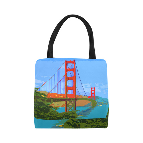 Golden_Gate_Bridge_20160910 Canvas Tote Bag (Model 1657)