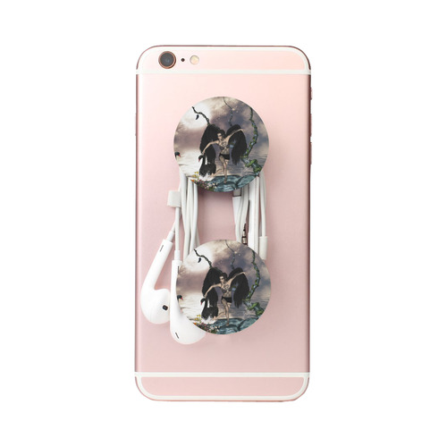 Wonderful dark swan fairy Air Smart Phone Holder