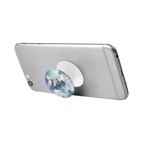 Cute birds with blue flowers Air Smart Phone Holder