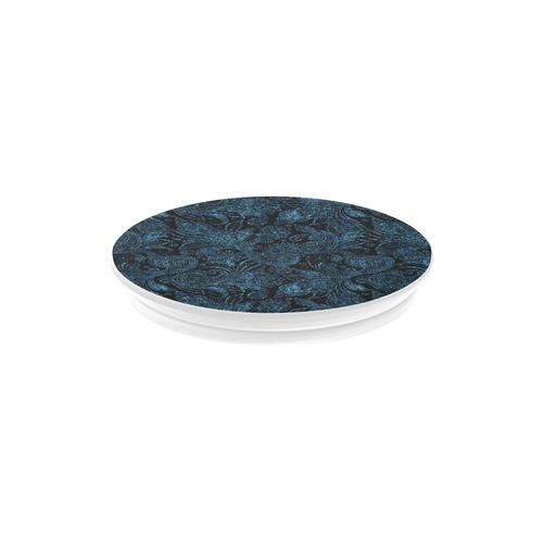 Elegant blue flower glitter look Air Smart Phone Holder
