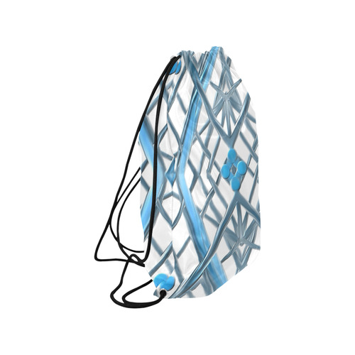 "tile 20 Medium Drawstring Bag Model 1604 (Twin Sides) 13.8""(W) * 18.1""(H)"