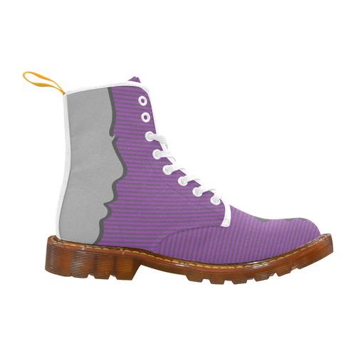 Profile Silhouette Martin Boots For Women Model 1203H