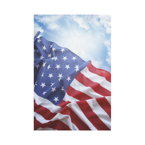 American      flag Garden Flag 12''x18''(Without Flagpole)