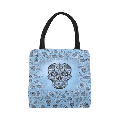 Skull20170239_by_JAMColors Canvas Tote Bag (Model 1657)