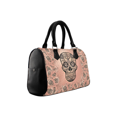Skull20170245_by_JAMColors Boston Handbag (Model 1621)