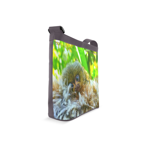 Baby Pygmy Marmoset Crossbody Bags (Model 1613)