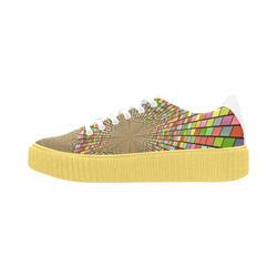 Pisces Fabric Women Shoes (Model 1306)